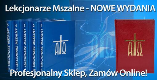 Lekcjonarze Mszalne - NOWE WYDANIE