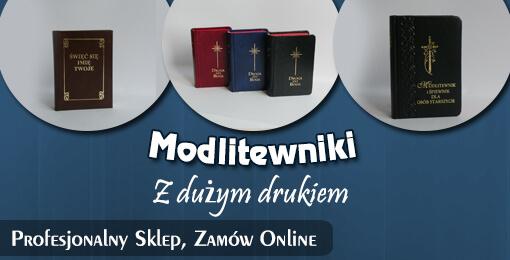 Modlitewniki z dużym drukiem