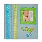 Album na Zdjęcia Dla Chłopca Baby niebieski