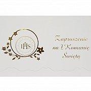 Zaproszenia komunijne IHS