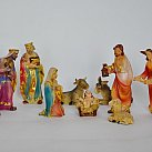 Szopka Bożonarodzeniowa figury 8 cm