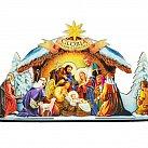 Szopka na Boże Narodzenie duża