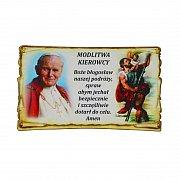 Modlitwa Kierowcy św. Jan Paweł II