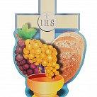 Emblemat na Boże Ciało Chleb