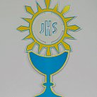 Emblemat na Boże Ciało Hostia