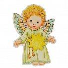 Aniołek zawieszka z gwiazdką dla chłopca