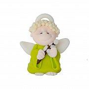 Figurka modelina aniołek z palmą