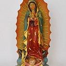 Figurka Matka Boża z Guadelupe 12.5 cm.