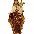 Figurka Matka Boża Szkaplerzna 30 cm tworzywo