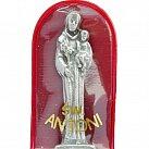 Figurka św. Antoniego w czerwonym etui