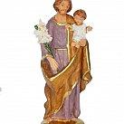 Figurka św. Józef fioletowy 16 cm