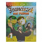 Franciszek Brat Płomień 1- film DVD z książeczką - kolekcja LUDZIE BOGA