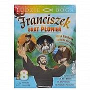 Franciszek Brat Płomień 8- film DVD z książeczką - kolekcja LUDZIE BOGA