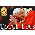Magnes Jan Paweł II Totus Tuus