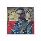 Magnes 3D Józef Piłsudski - 100 Rocznica