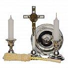 Komplet kolędowy krzyż św. Benedykta