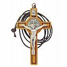Krzyż św. Benedykta z drzewa oliwnego