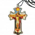 Krzyż do bierzmowania kolorowy TRÓJCA