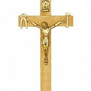 Krzyż Saletyński 21 cm jasny