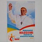 Obrazki  z Papieżem Franciszkiem na Światowe Dni Młodzieży 2016