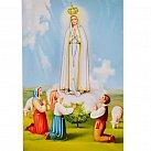Obrazek do książeczki z Matką Bożą Fatimską wzór 2