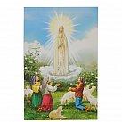 Obrazek do książeczki z Matką Bożą Fatimską