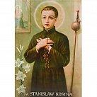 Obrazki święty Stanisław Kostka 10x15