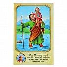 Obrazki ze Świętym Krzysztofem z Modlitwą