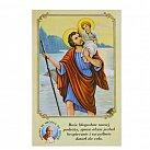 Obrazki ze Świętym Krzysztofem z modlitwą do Patrona Kierowców