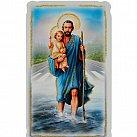 Obrazki św. Krzysztof z Modlitwą