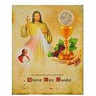 Obrazek do Pierwszej Komunii Świętej, WZÓR 40 z Janem Pawłem II