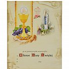 Obrazek do Pierwszej Komunii Świętej Lourdes WZÓR nr 52