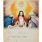 Obrazek do Pierwszej Komunii Świętej Duch Święty Jezus WZÓR nr 63