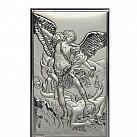 Obrazek srebrny Archanioł Michał 9 x 15