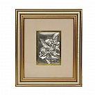 Obrazek srebrny ANIOŁ STRÓZ - PAMIATKA CHRZTU ŚWIĘTEGO