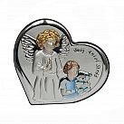 Obrazek srebrny Twój Anioł Stróż chłopiec
