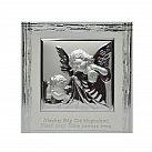 Obrazek srebrny ANIOŁ STRÓŻ Z LATARENKĄ Błogosławieństwo