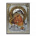 Ikona srebrna Matka Boża Włodzimierska