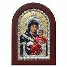 Ikona srebrna Matka Boża z Betlejem w ramce