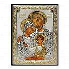 Ikona srebrna z wizerunkiem Świętej Rodziny