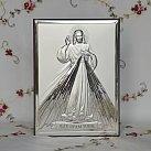 Obrazek srebrny Jezus Miłosierny