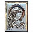 Obrazek srebrny MATKA BOŻA Z DZIECIĄTKIEM