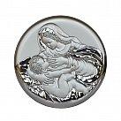 Obrazek srebrny MATKA BOSKA KARMIĄCA
