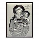 Obrazek srebrny św. Antoni 13x18