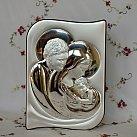 Obrazek srebrny Święta Rodzina 13x24,5