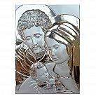 Obrazek srebrny ŚWIĘTA RODZINA duża