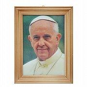 Obrazek Papież Franciszek obrazek 3D mały