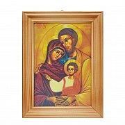 Obrazek św. Rodzina obrazek 3D mały