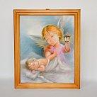 Obrazek w ramce Anioł Stróż 3