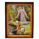 Obrazek Anioł Stróż z dziećmi nad wodą 30x40